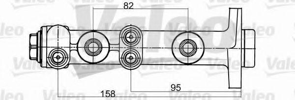 VALEO 402098 Главный тормозной цилиндр