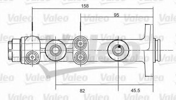 VALEO 350675 Главный тормозной цилиндр