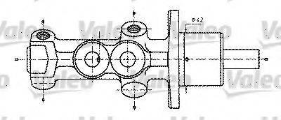 VALEO 402232 Главный тормозной цилиндр