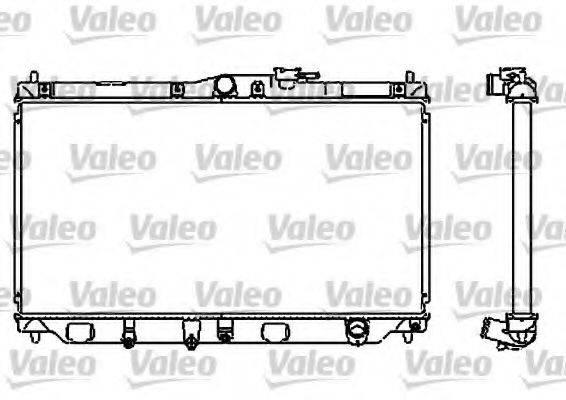Радиатор, охлаждение двигателя VALEO 732323