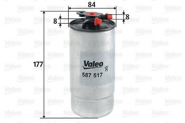 VALEO 587517 Топливный фильтр