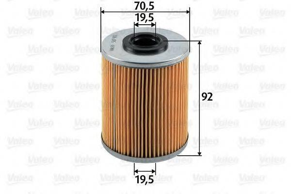 VALEO 587902 Топливный фильтр