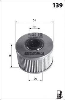 MECAFILTER ELG5245 Топливный фильтр