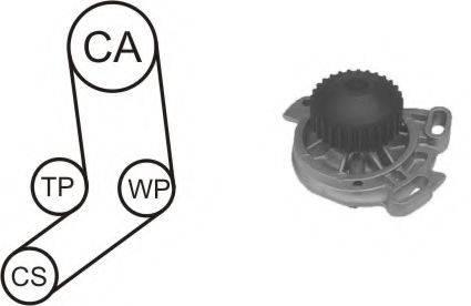 AIRTEX WPK130301 Водяной насос + комплект зубчатого ремня
