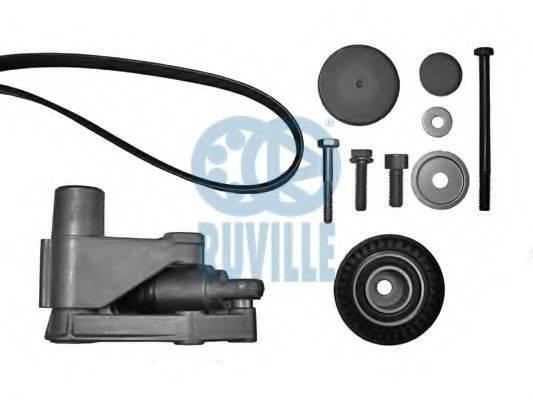 RUVILLE 5509380 Поликлиновой ременный комплект