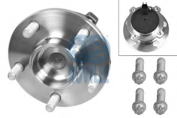 RUVILLE 5282 Комплект подшипника ступицы колеса