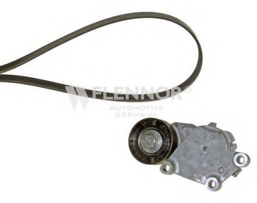 FLENNOR F906PK0975 Поликлиновой ременный комплект