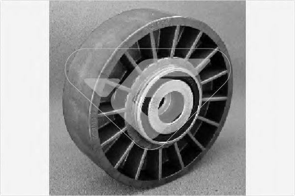 HUTCHINSON T0001 Паразитный / ведущий ролик, поликлиновой ремень