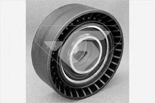 HUTCHINSON T0010 Паразитный / ведущий ролик, поликлиновой ремень