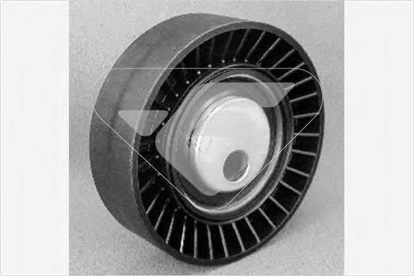 HUTCHINSON T0011 Паразитный / ведущий ролик, поликлиновой ремень