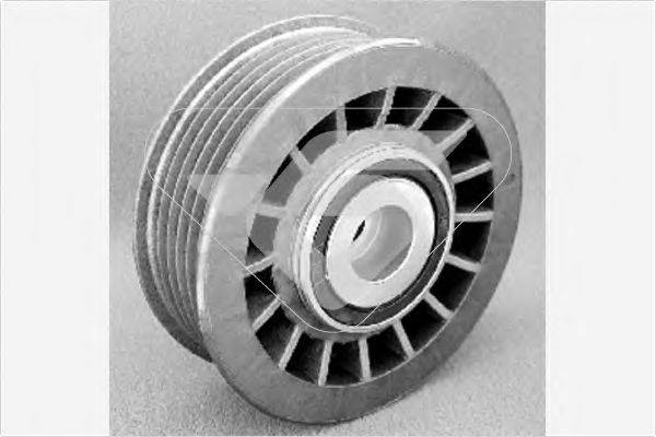 HUTCHINSON T0012 Паразитный / ведущий ролик, поликлиновой ремень