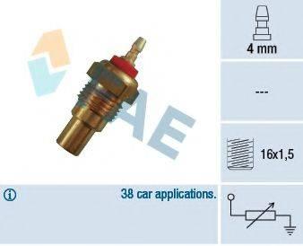 FAE 32160 Датчик, температура охлаждающей жидкости
