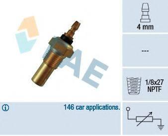 FAE 32350 Датчик, температура охлаждающей жидкости