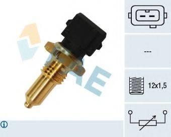 FAE 33155 Датчик, температура масла; Датчик, температура охлаждающей жидкости