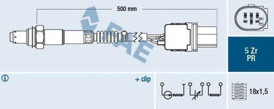 FAE 75080 Лямбда-зонд