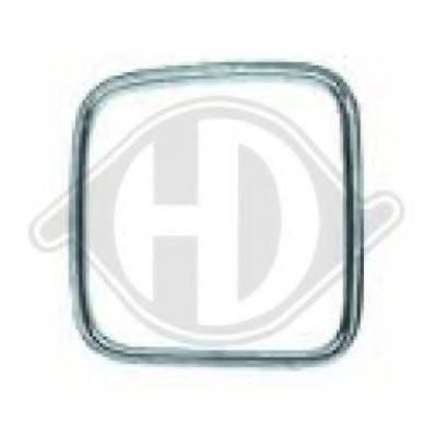 DIEDERICHS 1222042 Облицовка / защитная накладка, облицовка радиатора