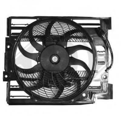 DIEDERICHS 1223001 Вентилятор, охлаждение двигателя
