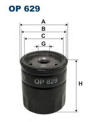 FILTRON OP629 Масляный фильтр