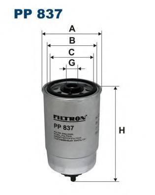 FILTRON PP837 Топливный фильтр