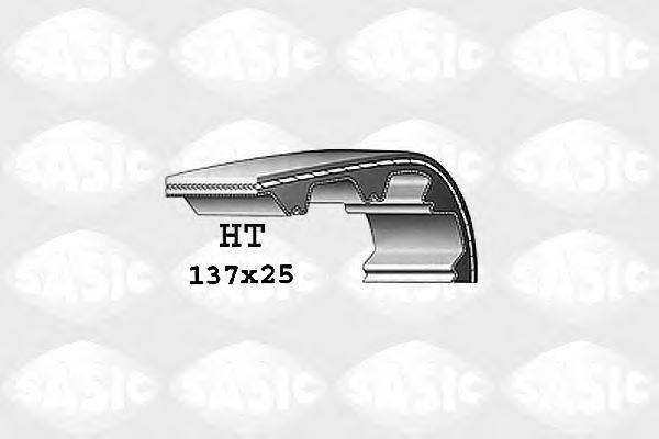 SASIC 1760016 Ремень ГРМ