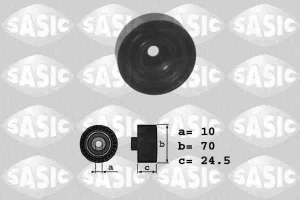 SASIC 1626053 Паразитный / ведущий ролик, поликлиновой ремень
