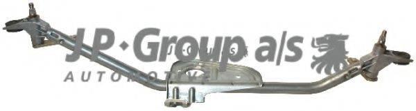 Система тяг и рычагов привода стеклоочистителя JP GROUP 1198101400
