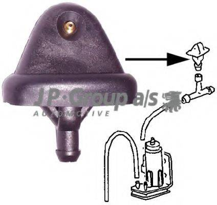 Распылитель воды для чистки, система очистки окон JP GROUP 1198700100