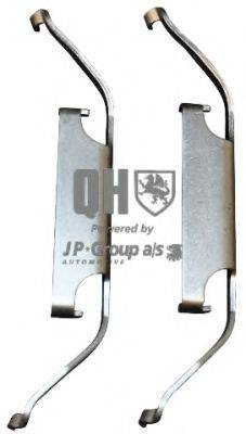 JP GROUP 1463650119 Комплектующие, колодки дискового тормоза