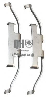 JP GROUP 1463750119 Комплектующие, колодки дискового тормоза