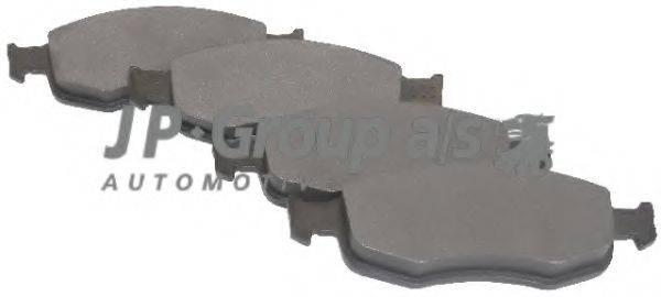 JP GROUP 1563600310 Комплект тормозных колодок, дисковый тормоз