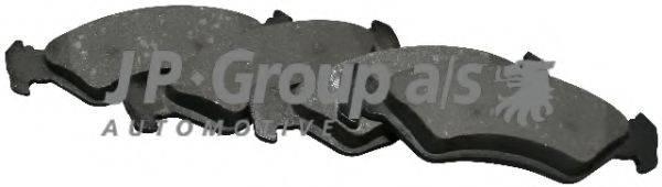JP GROUP 1563601510 Комплект тормозных колодок, дисковый тормоз