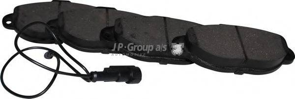 JP GROUP 1563602710 Комплект тормозных колодок, дисковый тормоз