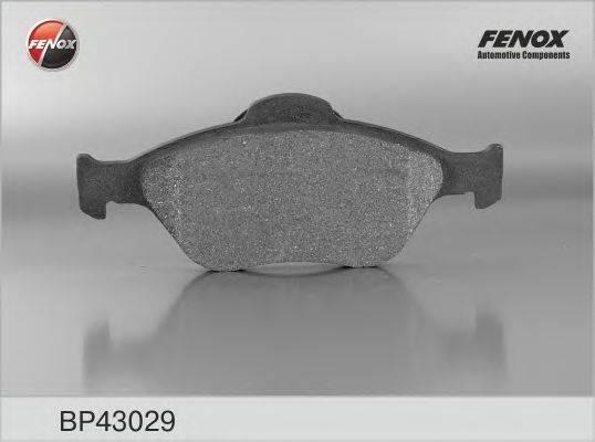 FENOX BP43029 Комплект тормозных колодок, дисковый тормоз
