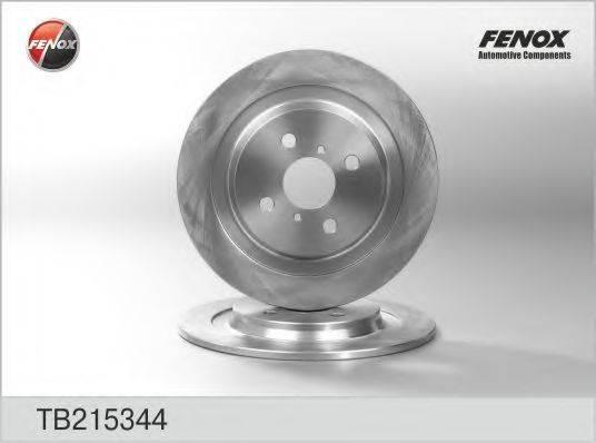 FENOX TB215344 Тормозной диск