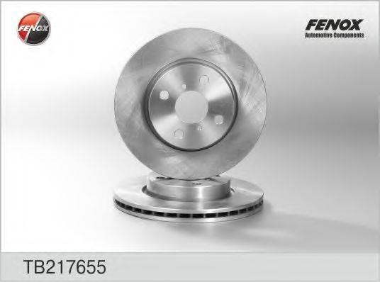 FENOX TB217655 Тормозной диск