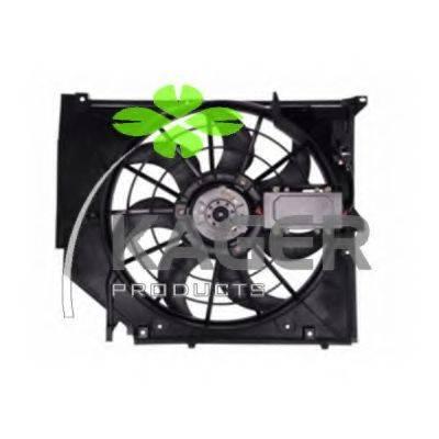 KAGER 322020 Вентилятор, конденсатор кондиционера
