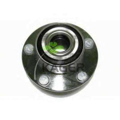 KAGER 830918 Комплект подшипника ступицы колеса