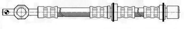 KAWE 510963 Тормозной шланг