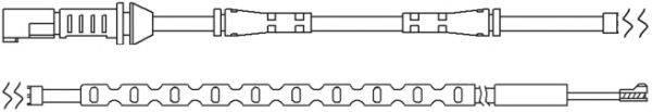 KAWE WS0289A Сигнализатор, износ тормозных колодок