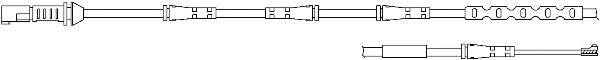 KAWE WS0306A Сигнализатор, износ тормозных колодок