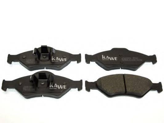 KAWE 810050 Комплект тормозных колодок, дисковый тормоз