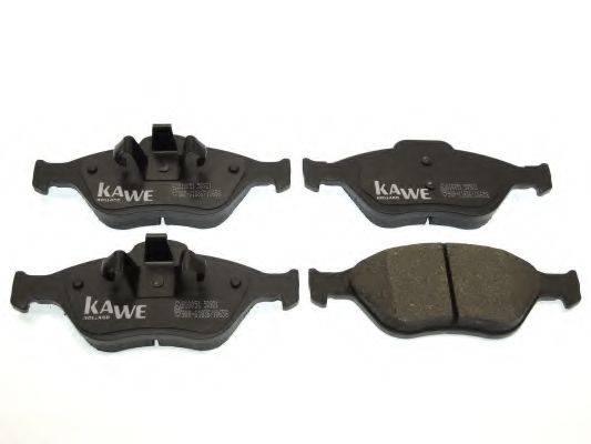 KAWE 810051 Комплект тормозных колодок, дисковый тормоз
