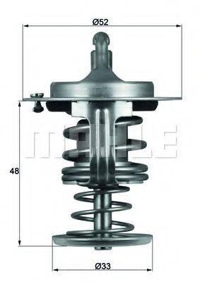 MAHLE ORIGINAL TX8280D Термостат, охлаждающая жидкость