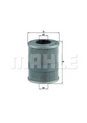 MAHLE ORIGINAL KX78D Топливный фильтр