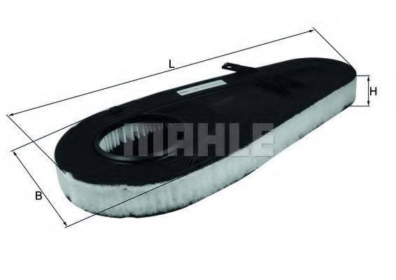 MAHLE ORIGINAL LX3598 Воздушный фильтр