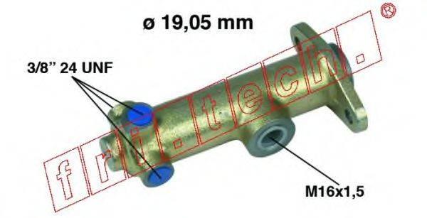 FRI.TECH. PF055 Главный тормозной цилиндр