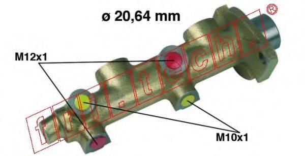 FRI.TECH. PF108 Главный тормозной цилиндр