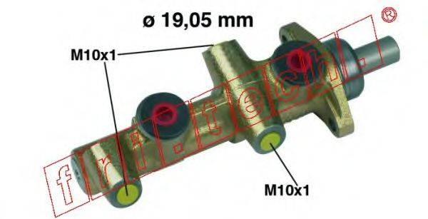 FRI.TECH. PF124 Главный тормозной цилиндр