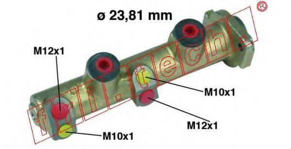 FRI.TECH. PF176 Главный тормозной цилиндр
