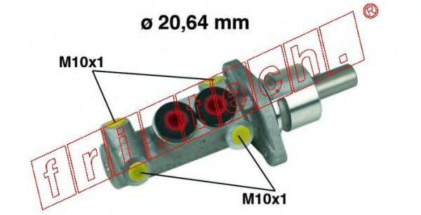 FRI.TECH. PF231 Главный тормозной цилиндр